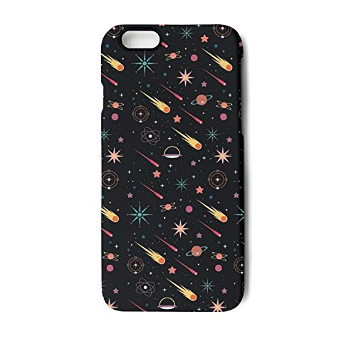 YUEch IPhone Case Solar System Space Doodles TPU Shock-Absorption & Skid-proof Anti-Scratch Phone Case For Apple IPhone 6/6S/6 Plus/6S Plus/7/7 Plus/8/8 Plus