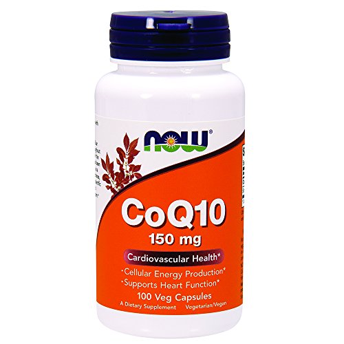 150 Mg 100 Capsules - NOW CoQ10 150 mg,100 Veg Capsules