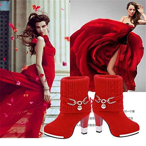 Donna Ginnastica Stivali Scarpe 35 Con Deed Da Eu Eleganti SEZw61q