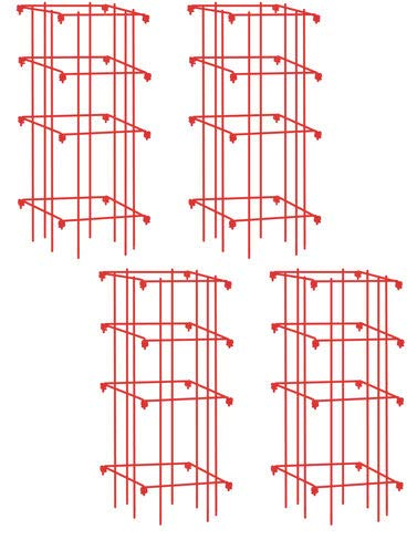 Gardener's Supply Company Lifetime Tomato Cages, Heavy Gauge, Set of 4