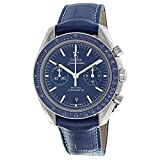 Omega Speedmaster Moonwatch Blue Dial Chronograph Mens Watch 31193445103001