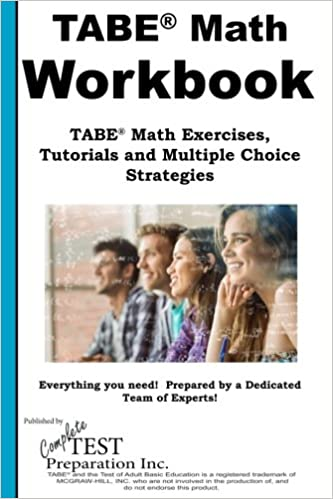TABE Math Workbook: TABE® Math Exercises, Tutorials and Multiple