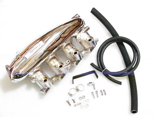 Nissan Sr20det Manifold - Nissan S13 SR20DET Intake Manifold - Chromed