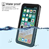 Besinpo Waterproof Case iPhone X, Underwater Full Body protection Drop Proof Cover for iPhone 10