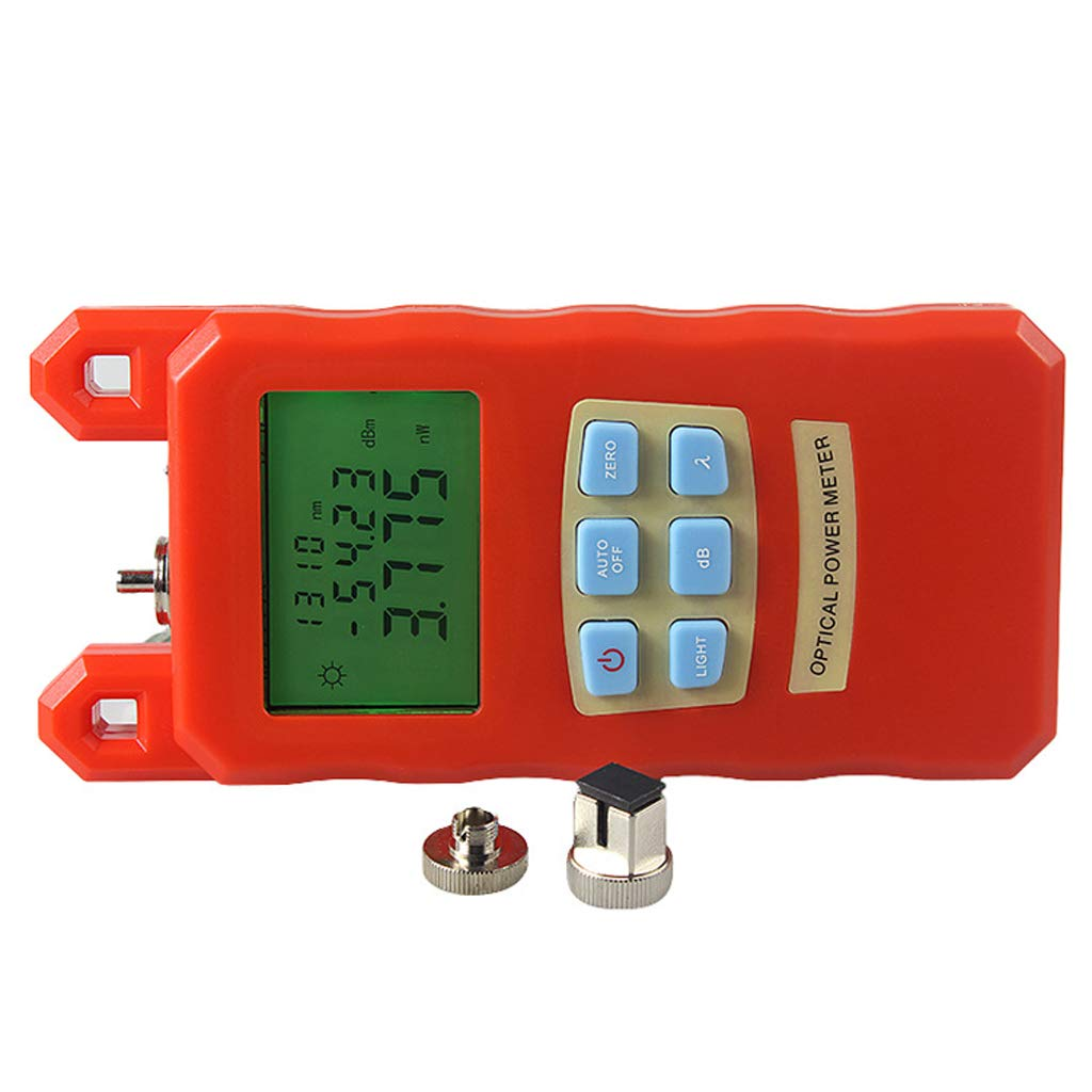 SM SunniMix -70dBm~+10dBm 850~1625nm Optical Power Meter Tester FC SC Handheld Optical Power Meter + with 30mW Visual Fault Locator by SM SunniMix (Image #6)