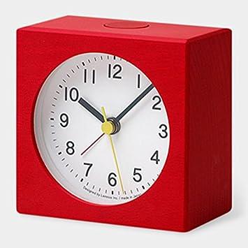 Ruotare Alarm Clock, Red