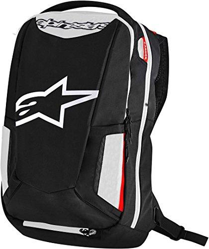 Alpinestars City Hunter Backpack (Black/White/RED)