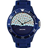PICONO Block Playground Resistant Analog Quartz Watch - BA-BP-01