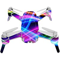 Skin For Yuneec Breeze 4K Drone – Light Waves | MightySkins Protective, Durable, and Unique Vinyl Decal wrap cover | Easy To Apply, Remove, and Change Styles | Made in the USA