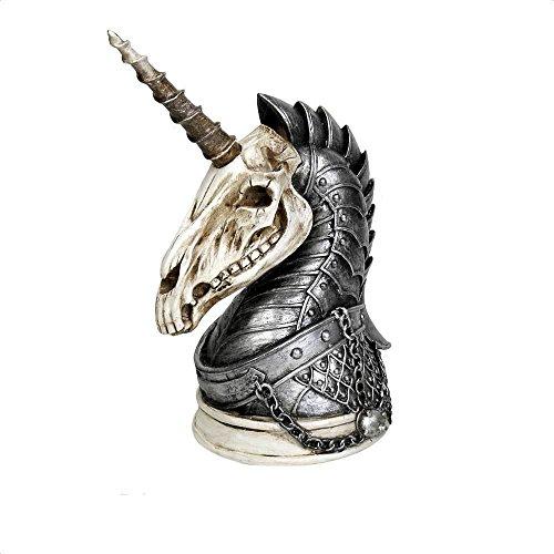 Alchemy of England: Unicorn War Horse Figurine ()