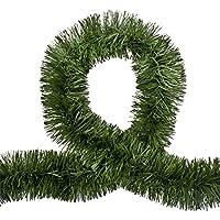 5X 2.5M Christmas Natural Pine Green Tinsel Garland Xmas Party Decor Ornaments