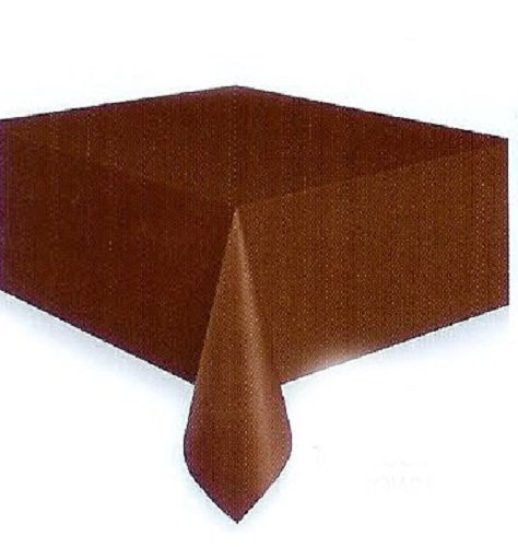 Brown Plastic Tablecloth, 108