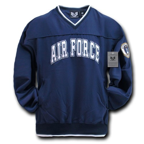 Rapiddominance Air Force Microfiber Pullover, Navy, X-Large ()