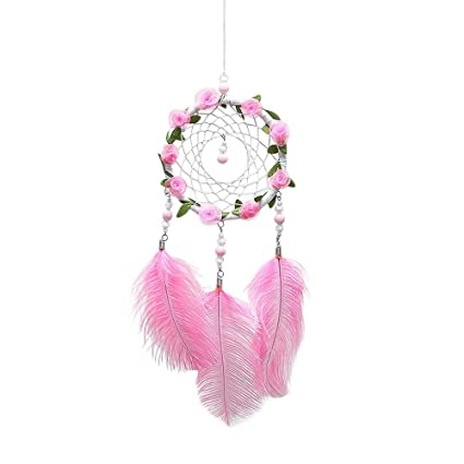 Loneflash Dream Catchers Handmade Hanging Wall Decorations With Best Wish Great Birthday Gift Creative Net