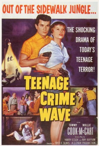 Teenage Crime Wave POSTER Movie (27 x 40 Inches - 69cm x 102cm) -