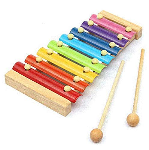 Wood Tool - Kid Toy 8 Note Musical Xylophone Piano Wooden Instrument Child - Awkward Instrumentate Official Document Legal Woody Pawn - ()