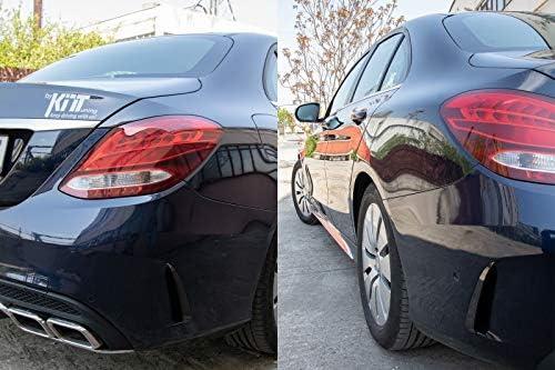 Kitt RFOBW205 colore nero alette laterali per paraurti posteriore