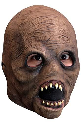 Entity Alien Latex Mask Child Kids Slenderman Face Creature Myth Horror Cosplay (Alien Child Mask)
