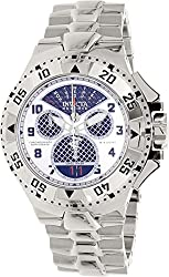 Invicta Men's 'Excursion' Swiss Quartz Stainless Steel Automatic Watch, Color:Silver-Toned (Model: 17468)