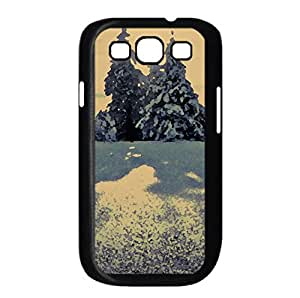 Tree Shadows Watercolor style Cover Samsung Galaxy S3 I9300 Case (Winter Watercolor style Cover Samsung Galaxy S3 I9300 Case)