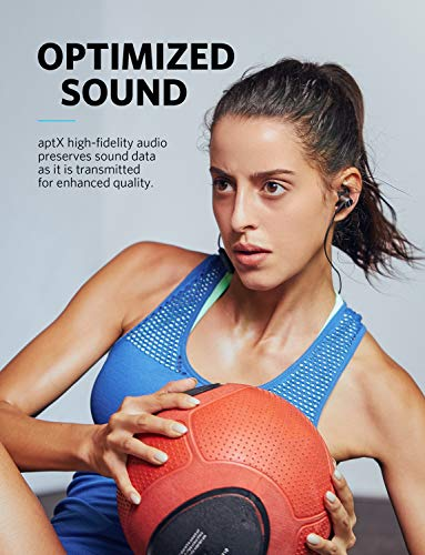 Wireless Headphones, Soundcore Spirit Pro Bluetooth Earbuds Anker Dual EQ, 10H Playtime, IP68 Waterproof, SweatGuard Technology, Hi-Fi Sound, Bluetooth Headset Mic Sports Gym by Soundcore (Image #3)