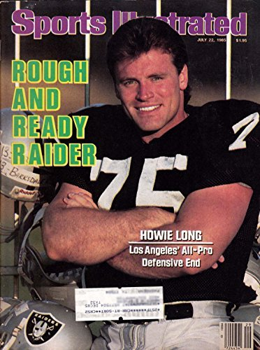Sports Illustrated July 22 1985 Howie Long Raiders