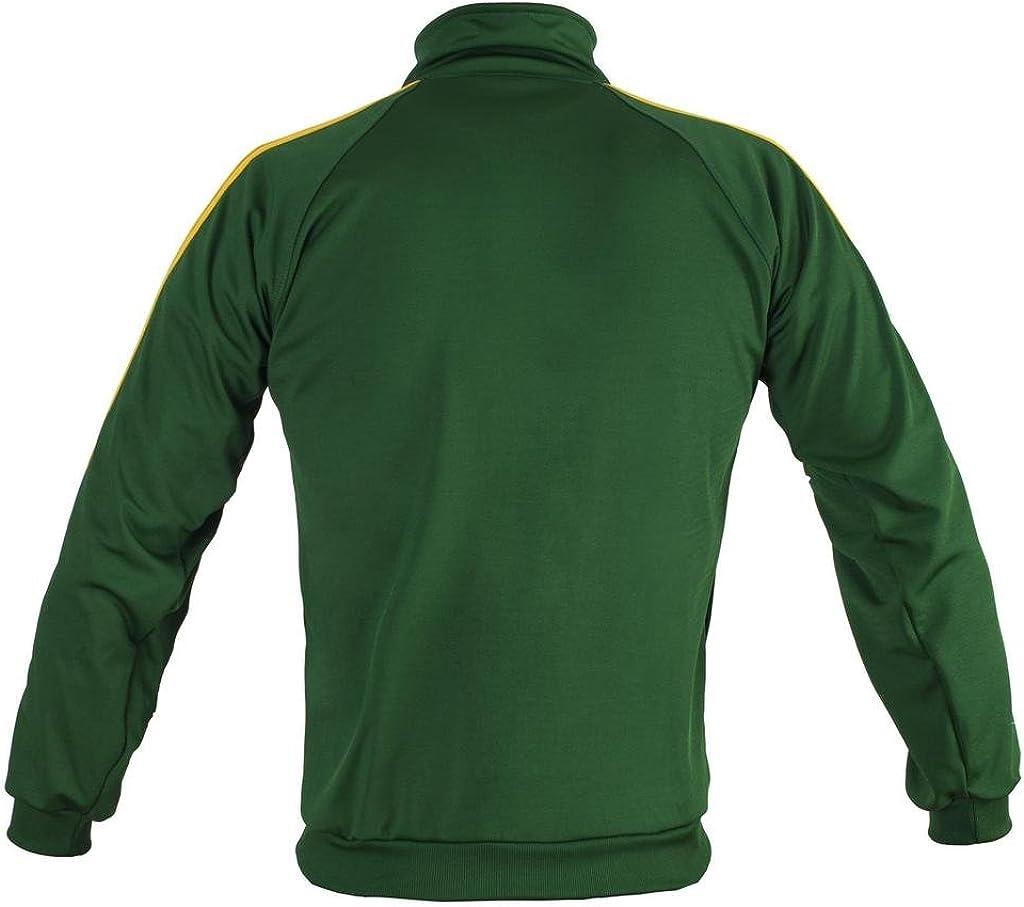 JL Sport Green Capoeira Zip-up Jacket Brasil Tracksuit Childrens Youth Retro Design
