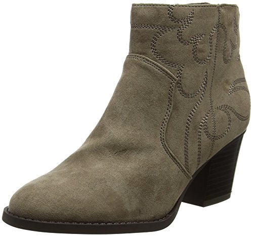 Donna Look Light Brown Wide Brown Foot New Cowboy Stivali wXnf4dfqT