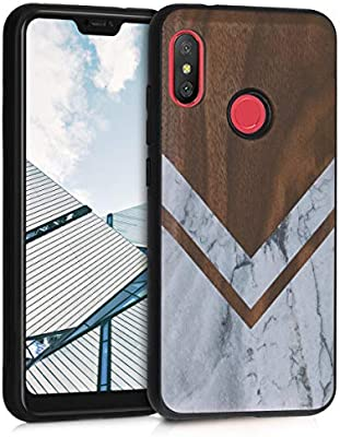 Amazon.com: kwmobile Wooden Case for Xiaomi Redmi 6 Pro/Mi ...