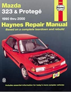 Mazda 323 mx 3 626 millenia and protege 1990 98 haynes repair mazda 323 proteg automotive repair manual 1990 2003 haynes repair manual fandeluxe Image collections