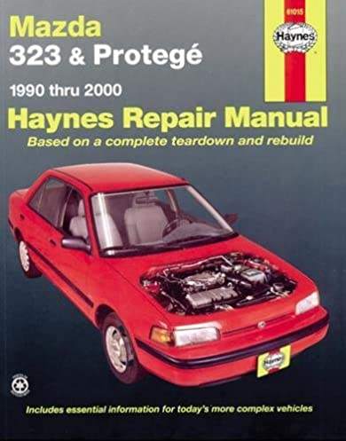 mazda 323 proteg automotive repair manual 1990 2003 haynes rh amazon com Mazda Protege5 Slammed 2002 mazda protege 5 shop manual