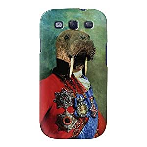 Sir Odobenus Rosmarus Full Wrap High Quality 3D Printed Case, Snap-On Cover for Samsung Galaxy S3 by Beat Up Creations