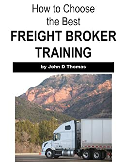 Choose BEST Freight Broker Training ebook product image