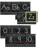 Teacher Created Resources Chalkboard Brights Alphabet Line Bulletin Board (5621)