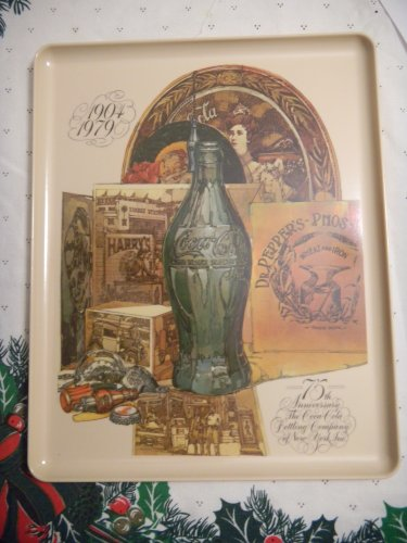 Vintage 1904 - 1979 Coca Cola Bottling Co. NY 75th Anniversary -
