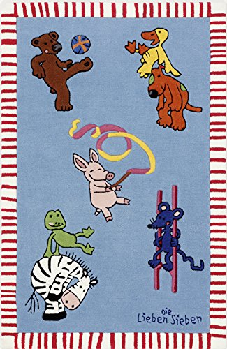 Die Lieben Sieben Kinderteppich LS-2930-01 150x220cm
