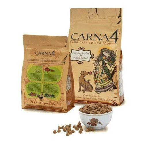 CARNA4 Hand Crafted Dog Food, 3-Pound, Chicken