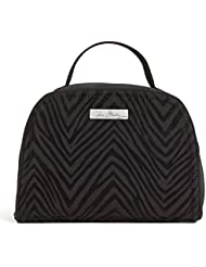Vera Bradley Travel Jewelry Organizer in Classic Black with Zebra