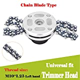 Ball's Outdoor Garden Lawn Grass Trimmer-Head Coil 65 Manganese Chain Mower Part Accessory