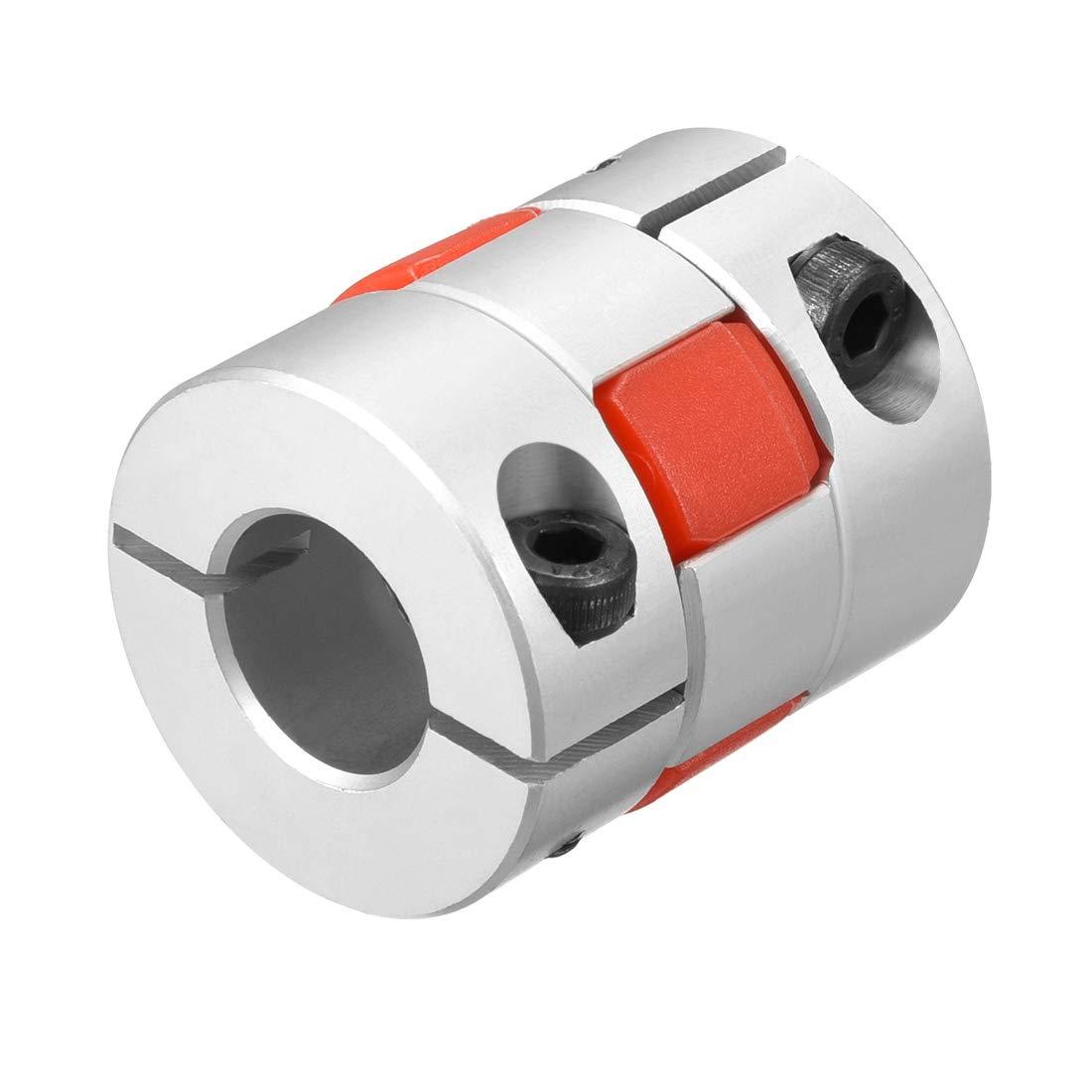 Sourcingmap Acoplamiento de eje de 12 mm a 15 mm de di/ámetro para motor paso a paso Servo L35xD30