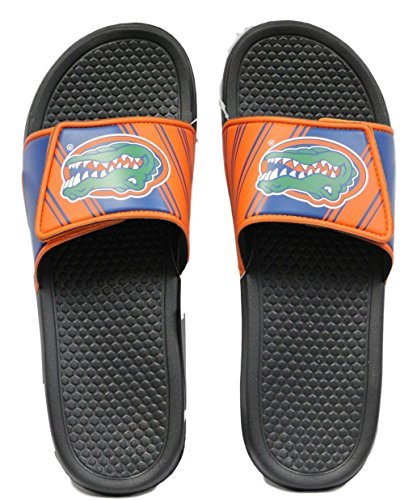 Florida Gators Men's Legacy Shower Sport Slide Flip Flop Sandals (X-Large) (Flops Flip Florida)