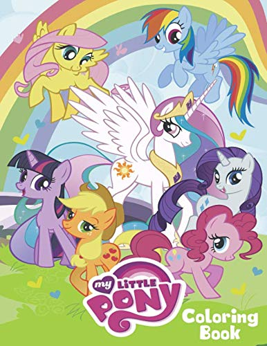 My Little Pony Coloring Book: Coloring Book for Kids and Adults - 40 coloring pages