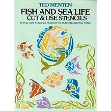 Fish and Sea Life Cut & Use Stencils