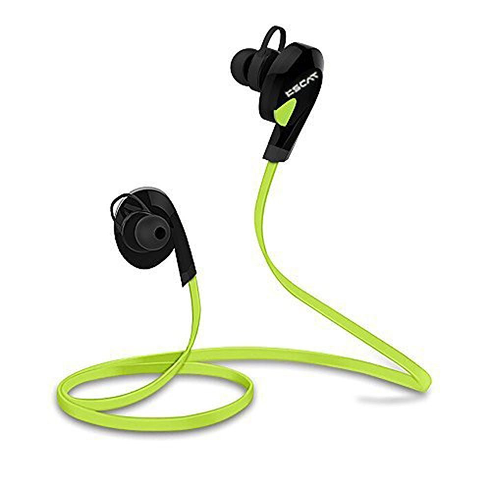 f6e5f179b09 KSCAT NICE17 Bluetooth Headphones Stereo Wireless Earphones for Running  with Mic 6 Hours Play Time, Bluetooth V4.1, Sweatproof, Secure Ear Hooks  Design- ...