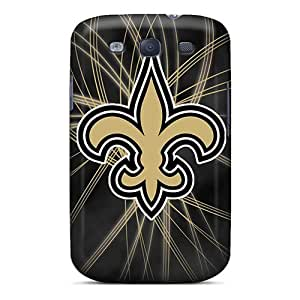 Samsung Galaxy S3 Yyh18597GuSW Allow Personal Design Fashion New Orleans Saints Pictures Shock Absorption Cell-phone Hard Covers -LisaSwinburnson WANGJING JINDA