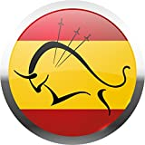 Spain National Flag Bullfighting Home Decal Vinyl Sticker 12'' X 12''