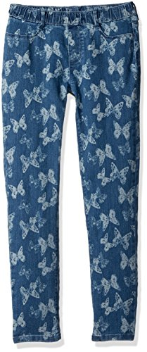 Gymboree Big Girls' Denim Butterfly Woven Pant
