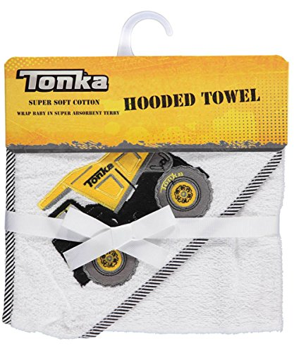 "Tonka ""Classic"" Hooded Towel - white, one size"