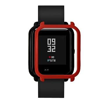 QUICKLYLY Funda Completa para Huami Amazfit Bip Youth Watch Protección Suave de TPU de Silicona Smartwatch Protector
