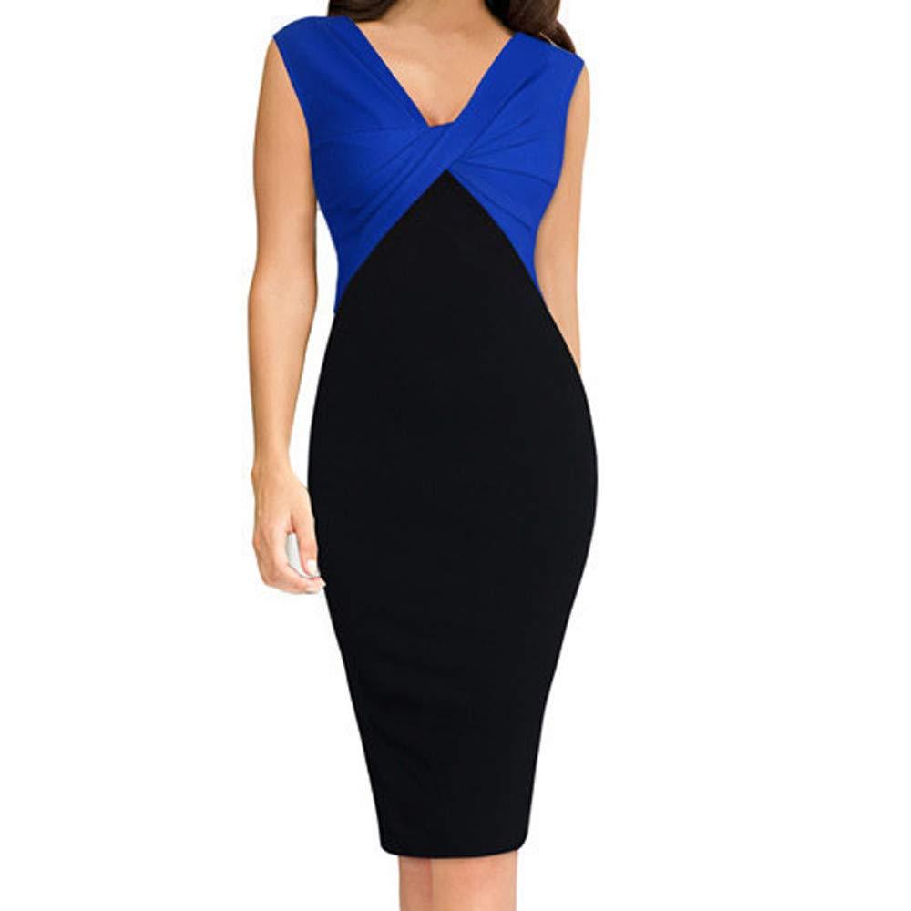 MEEYA Women's Dress & Skirt SKIRT レディース B07L7BSH2T ブルー X-Large